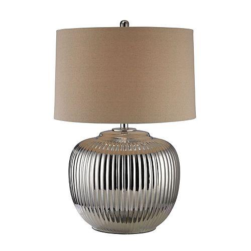 Dimond Trump Home Ribbed Ceramic Table Lamp