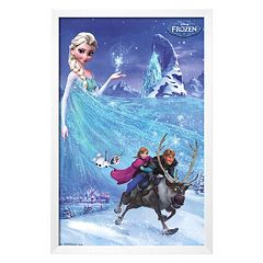 Disney's Frozen Framed Wall Art by Art.com