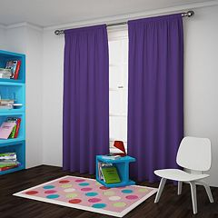 eclipse Blackout 1-Panel Macklin Window Curtain