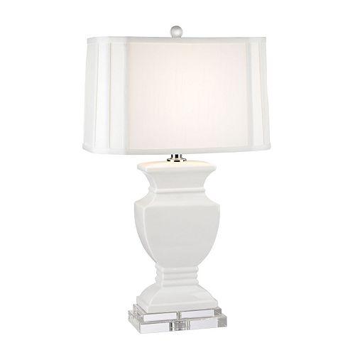 Dimond White Ceramic Table Lamp