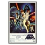 Art.com Star Wars Episode IV New Hope Movie Framed Wall Art
