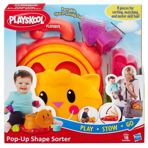 Playskool Play, Stow, Go Pop-Up Shape Shorter