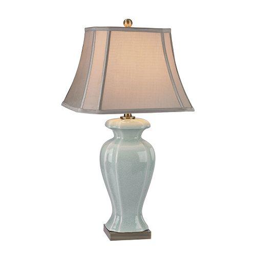 Dimond Celadon Ceramic LED Table Lamp