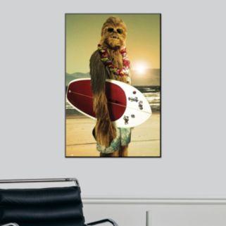 Art.com Star Wars Surfs Up Framed Wall Art