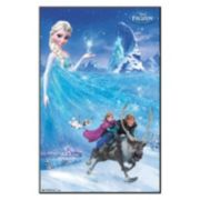 "34"" x 22"" Disney's Frozen Elsa Framed Wall Art by Art.com"