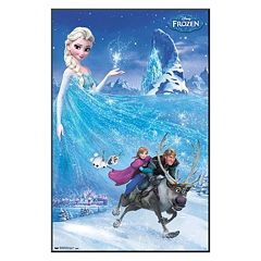 34' x 22' Disney's Frozen Elsa Framed Wall Art by Art.com