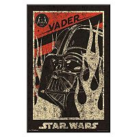 Art.com Star Wars Darth Vader Propaganda Movie Framed Wall Art