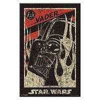 Art.com Star Wars Darth Vader Propaganda Movie Framed Wall Art