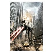 Art.com Star Wars Manhat-atan Framed Wall Art