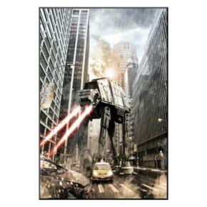 Art.com Star Wars Manhat-atan Framed Wall Art