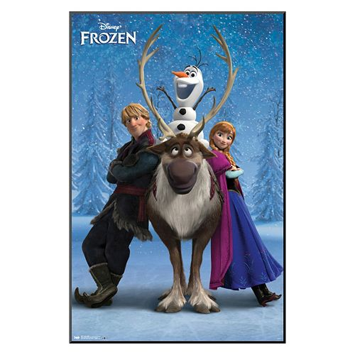 Disney's Frozen Team Framed Wall Art by Art.com