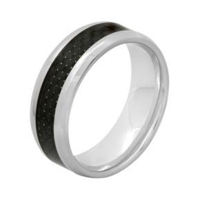 Stainless Steel & Carbon Fiber Band - Men