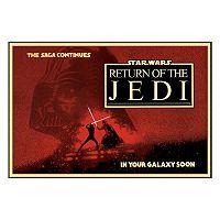 Art.com Star Wars Return of the Jedi Circles Framed Wall Art