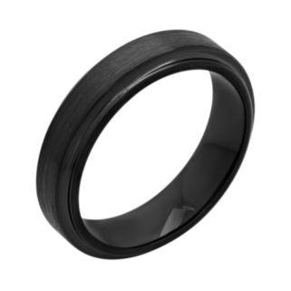 Black Ion-Plated Cobalt Band - Men