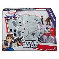 Star Wars Galactic Heroes Millennium Falcon & Figures Set by Playskool