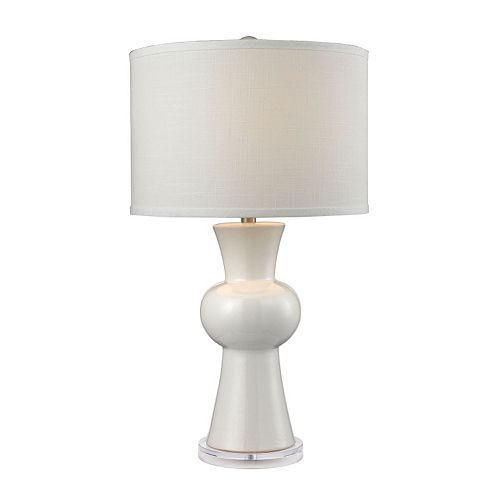 Dimond Gourd Ceramic Table Lamp