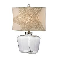 Dimond Starfish Glass LED Table Lamp
