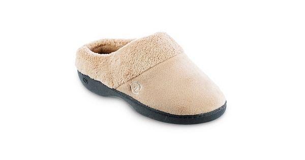 Isotoner Classics Women S Memory Foam Clog Slippers