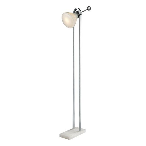 Dimond Adjustable Glass Floor Lamp