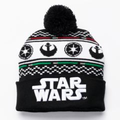 Men's Star Wars Imperial Rebel Fairisle Cuffed Knit Cap