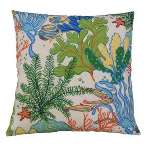 Edie, Inc.  Splish Splash Outdoor Throw Pillow