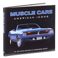 American Icons: Muscle Cars Book