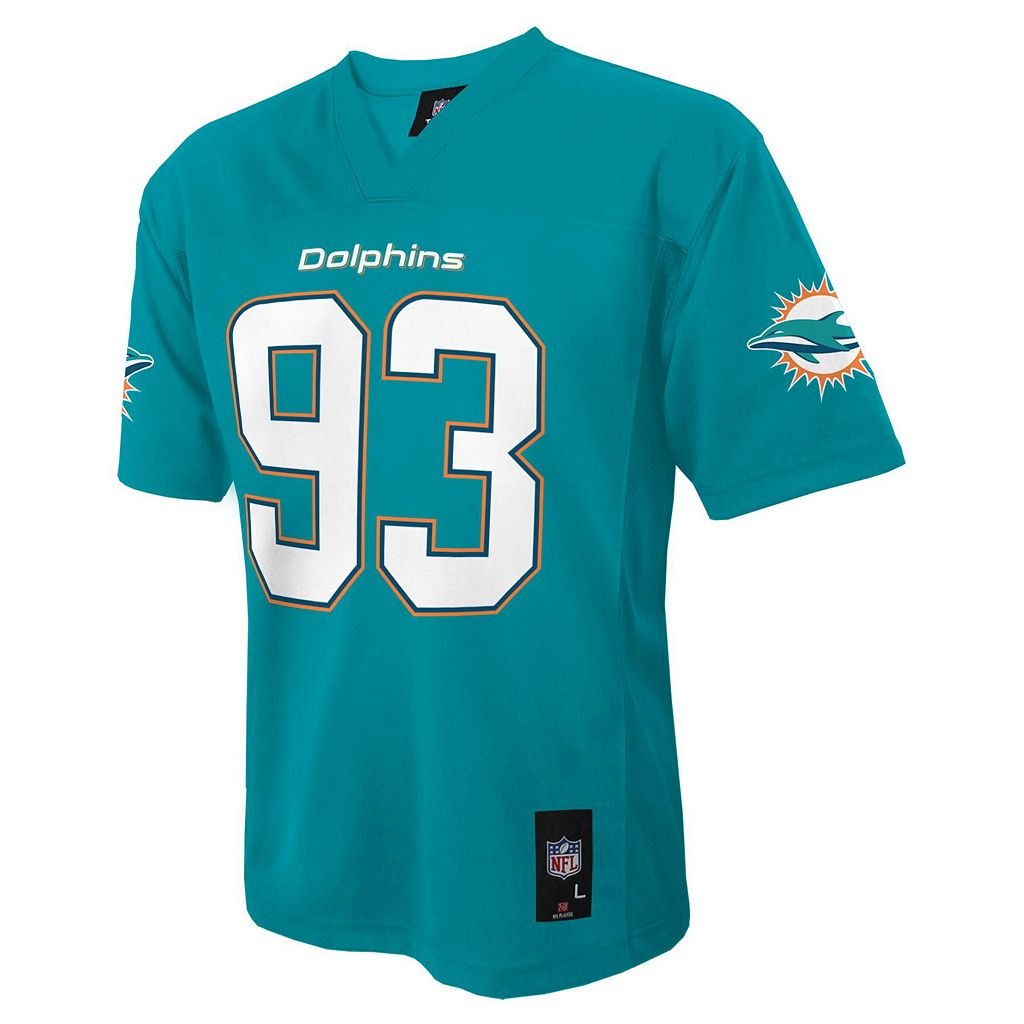 Boys 8-20 Miami Dolphins Ndomukong Suh NFL Replica Jersey