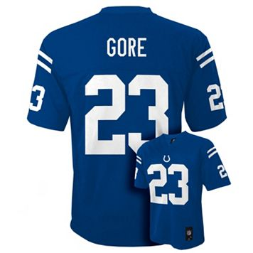 Boys 8-20 Indianapolis Colts Frank Gore NFL Replica Jersey