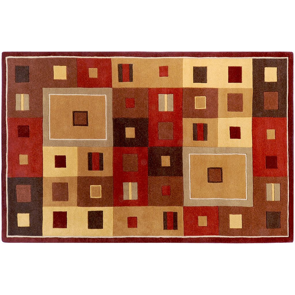 Artisan Weaver Pojoaque Geometric Wool Rug