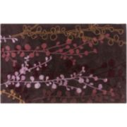 Artisan Weaver Pollock Vine Rug