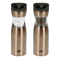 Kalorik Gravity Electric Salt & Pepper Grinder Set