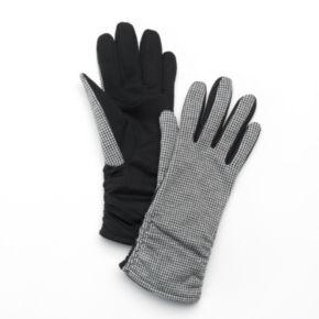 Apt. 9® Women's Mini Houndstooth Gloves