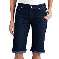 Dickies Slim Stretch Straight-Leg Denim Shorts - Women's