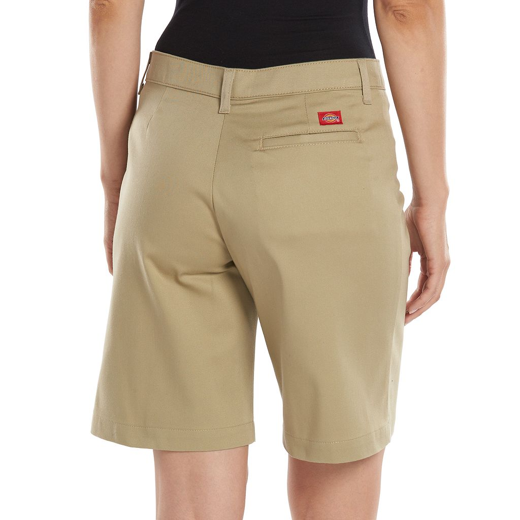 Dickies Relaxed Stretch Twill Shorts - Women's