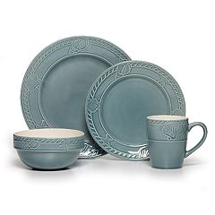 Pfaltzgraff Antigua Blue 16-pc. Dinnerware Set