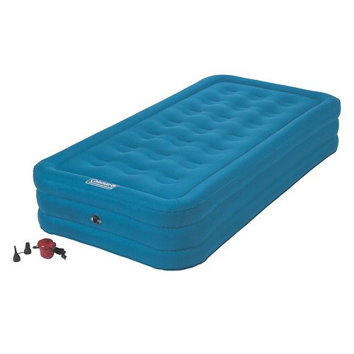 Coleman DuraRest Plus 15-inch Double High Air Mattress - Twin