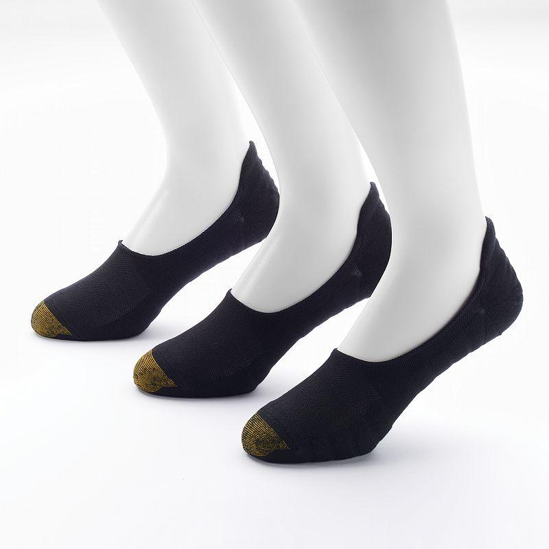 GOLDTOE 3-pack Loafer Socks - Men