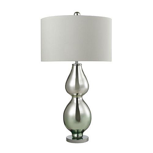 Dimond Gourd Mercury Glass Table Lamp