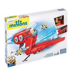 Mega Bloks Minions Supervillain Jet by