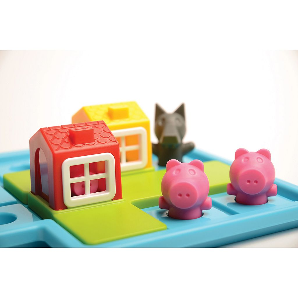 Three Little Piggies Multi-Level Logic Game by SmartGames