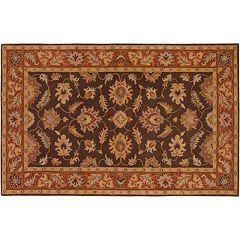 Artisan Weaver Rock Floral Wool Rug