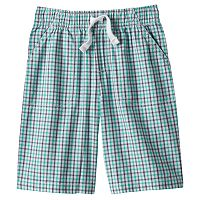 Boys 4-7x Jumping Beans® Gingham Shorts