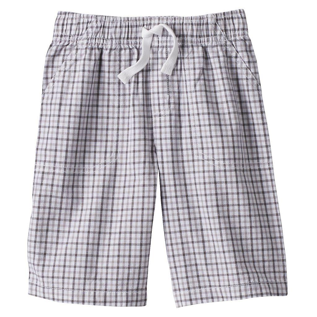 Boys 4-7x Jumping Beans® Gingham Shorts
