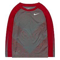 Boys 4-7 Nike Chevron Squares Dri-FIT Raglan Tee