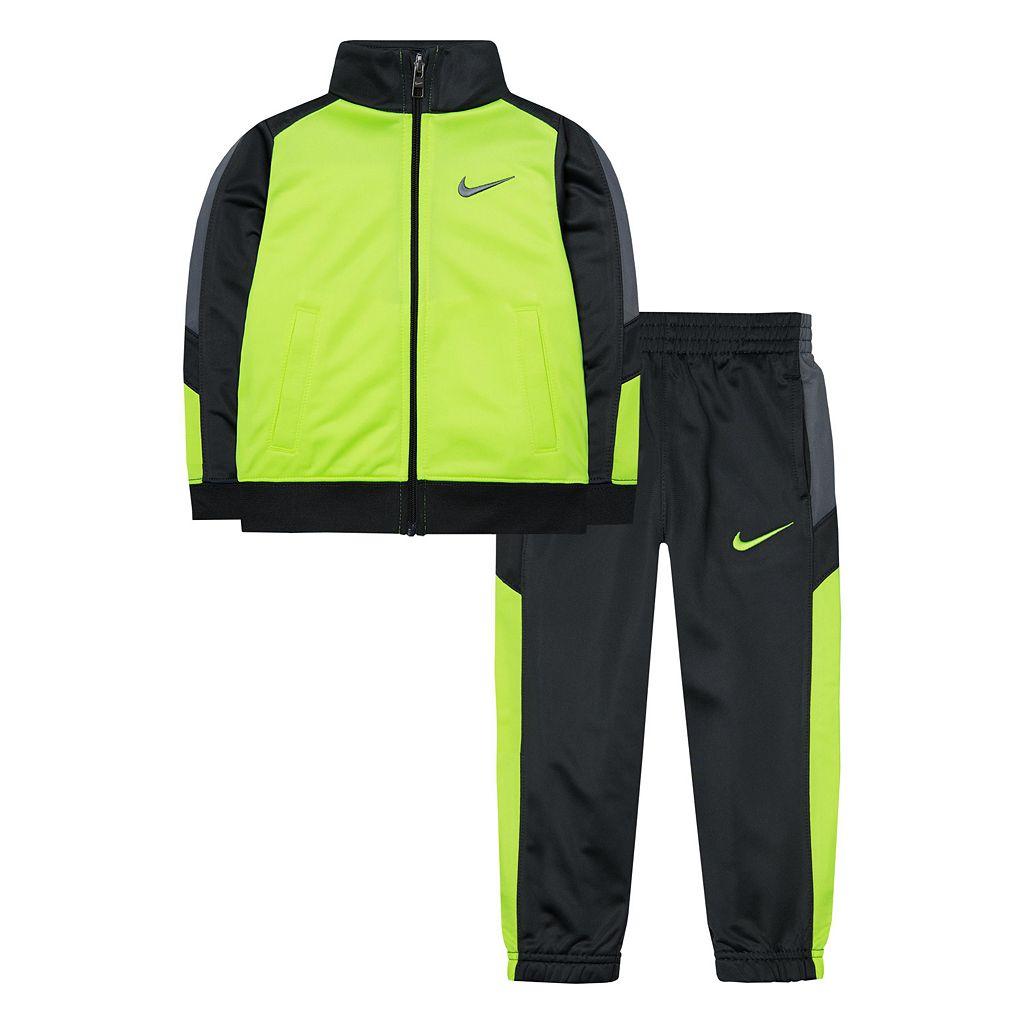 Boys 4-7 Nike Colorblock Warm-Up Jacket & Pants Set