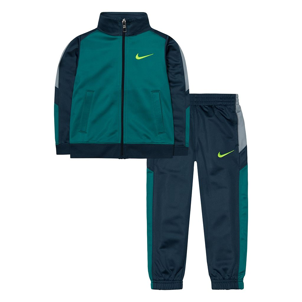 Boys 4-7 Nike Colorblock Warm-Up Jacket & Pants Set