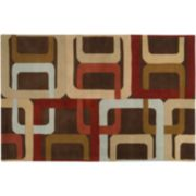 Artisan Weaver Saratoga Geometric Wool Rug