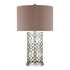 Dimond London Laser Cut Pattern LED Table Lamp