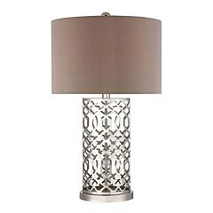 Dimond London Laser Cut Pattern Table Lamp