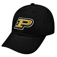 Adult Top of The World Purdue Boilermakers Crew Baseball Cap